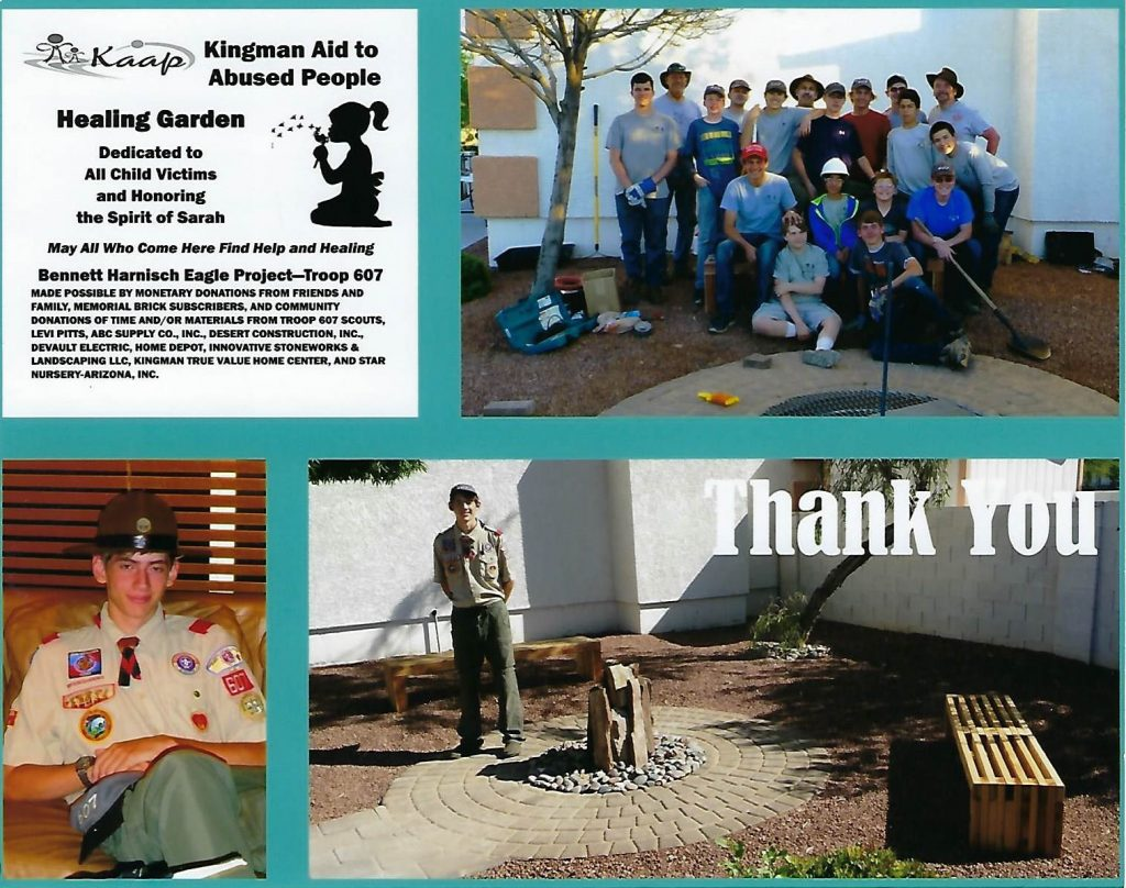 Innovative Stoneworks Thank You from Troop 607